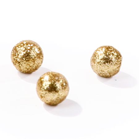 Kulki brokatowe Złote
