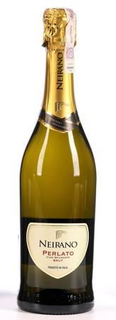 Wino Neirano Perlato Spumante Brut - Wino musujace białe - delikatnie wytrawne 0,75l - Włochy (243)