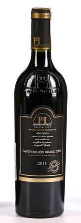 Wino Saint Emilion Grant Cru - czerwone wytrawne - 0,75l- Francja (289)