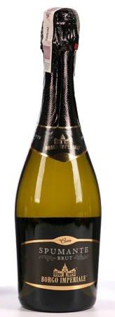 Wino Spumante Borgo Imperiale - białe musujace wytrawne - 0,75l - Włochy (277)
