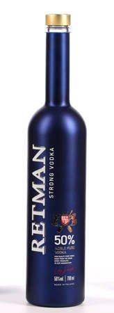 Wódka czysta Retman Strong Vodka 700ml alk.50% (254)